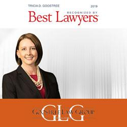 Tricia D. Goostree has been selected for the 2019 edition of The Best Lawyers in America